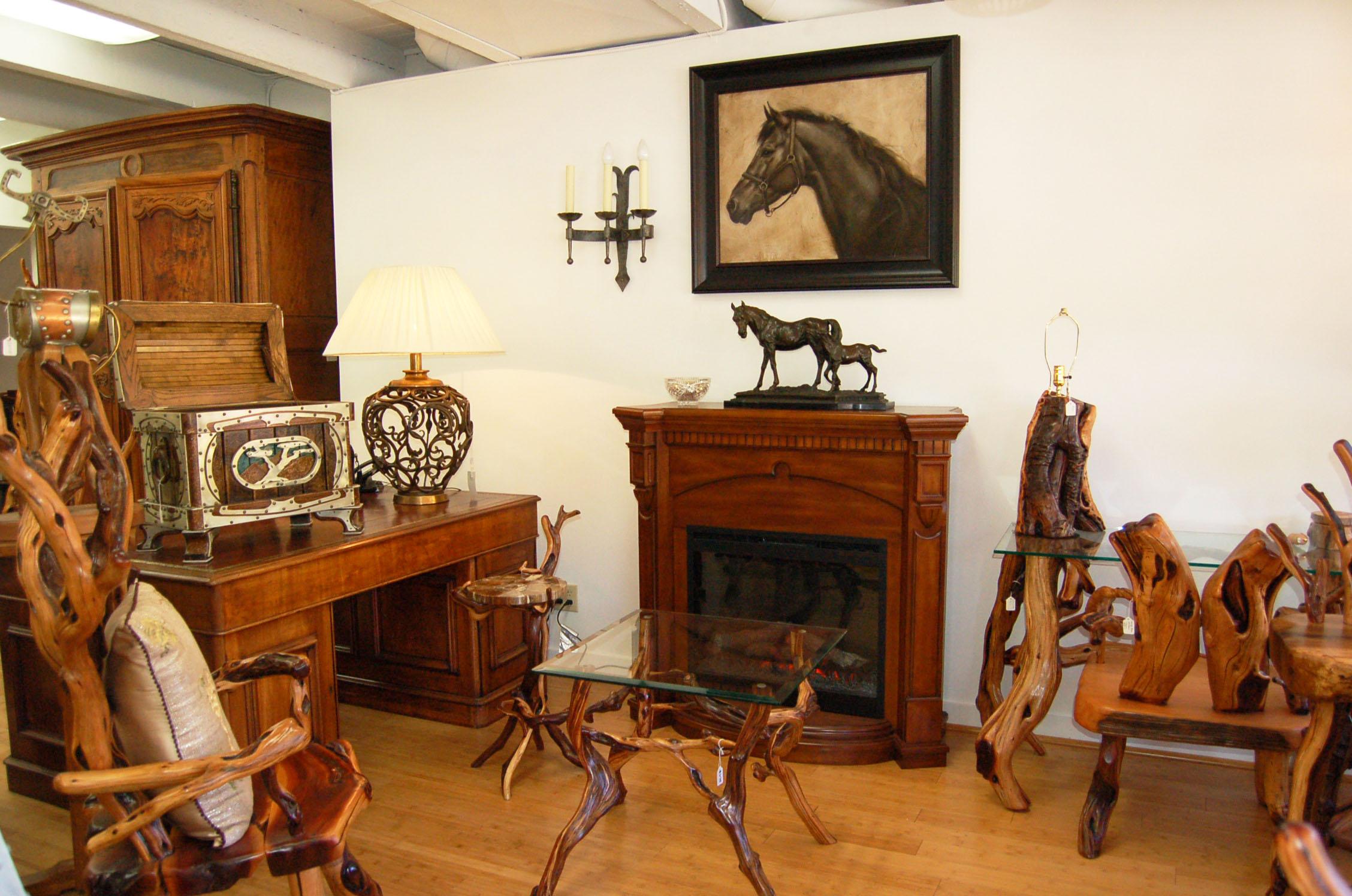 Exquisite furniture and artwork