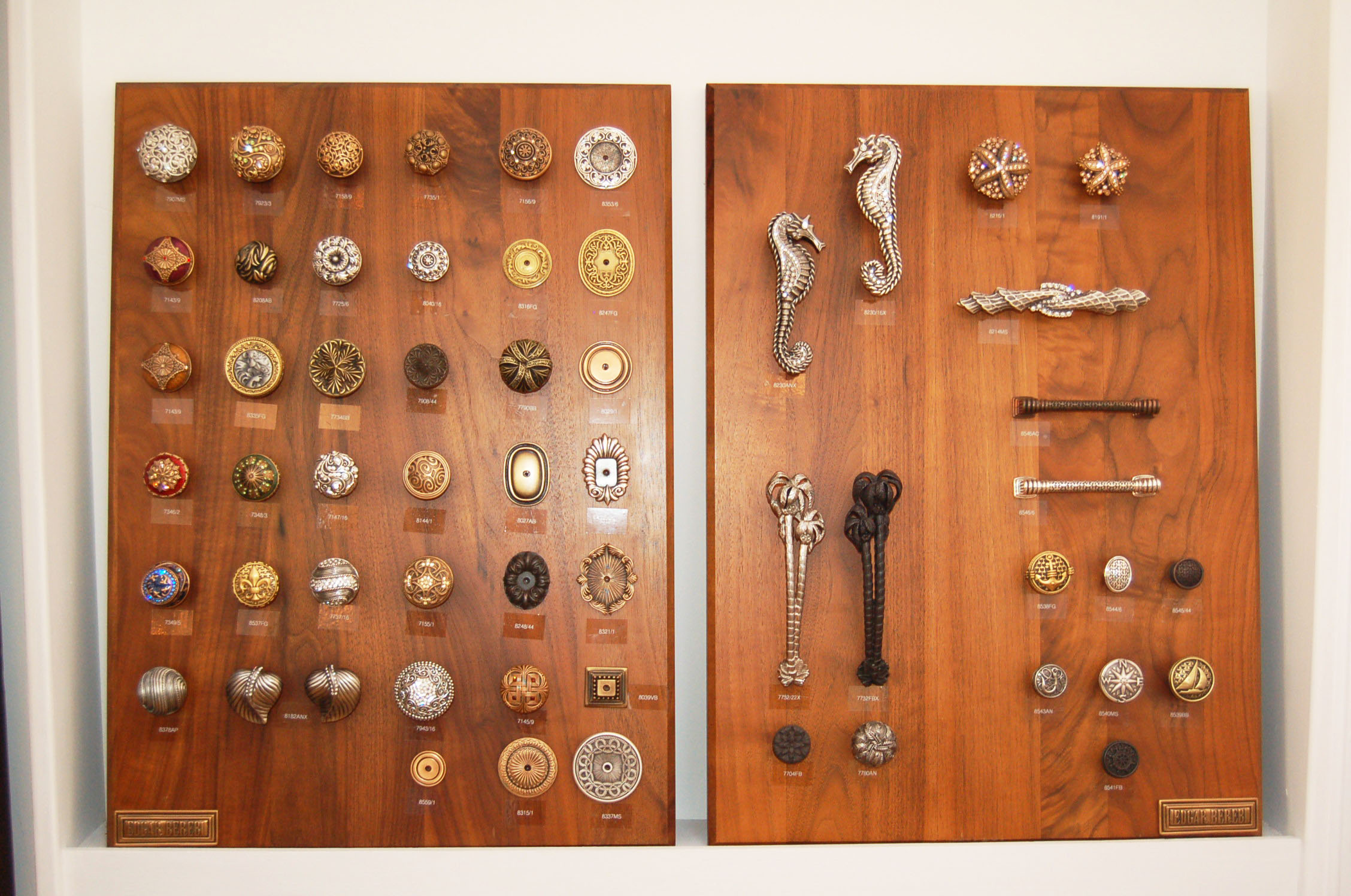 Dazzling knobs and hardware by Edgar Berebi