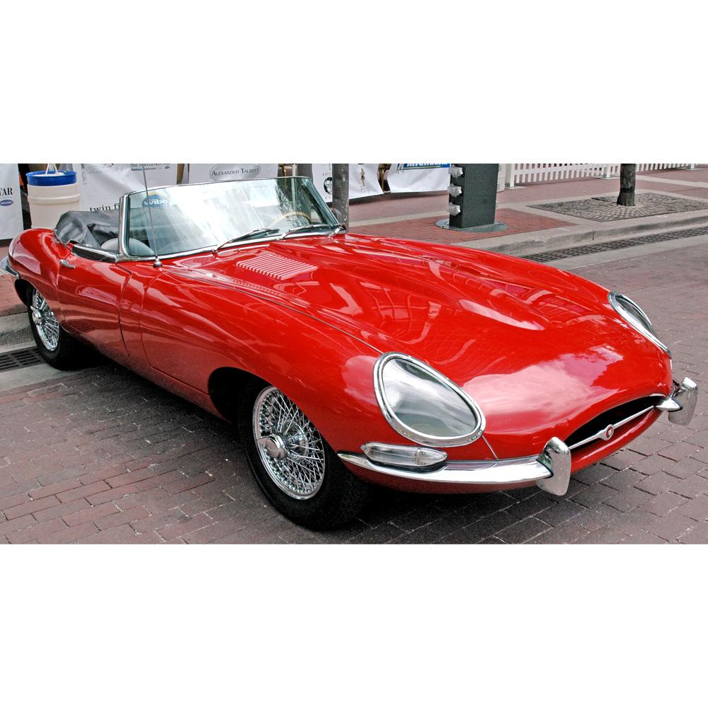 1966 Jaguar Xke Convertible: E-Type Jaguar Cufflinks - 1963 Convertible