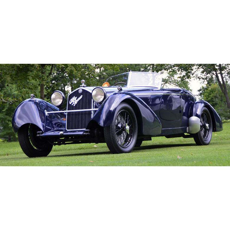 1934 Alfa Romeo 8C 2300 Cufflinks