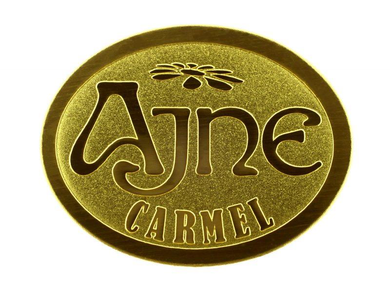 Ajne_logo_aluminum_gold