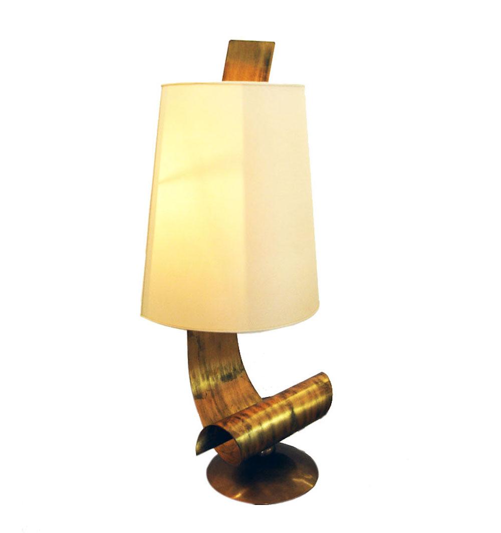 Ricciolo iron table lamp anne thull fine art designs furniturelightingtable lamps ricciolo iron table lamp geotapseo Choice Image