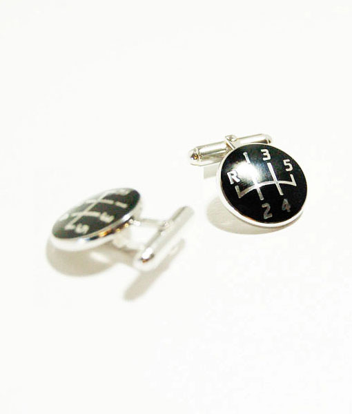 gearshift-cufflinks