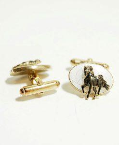 horse cufflinks