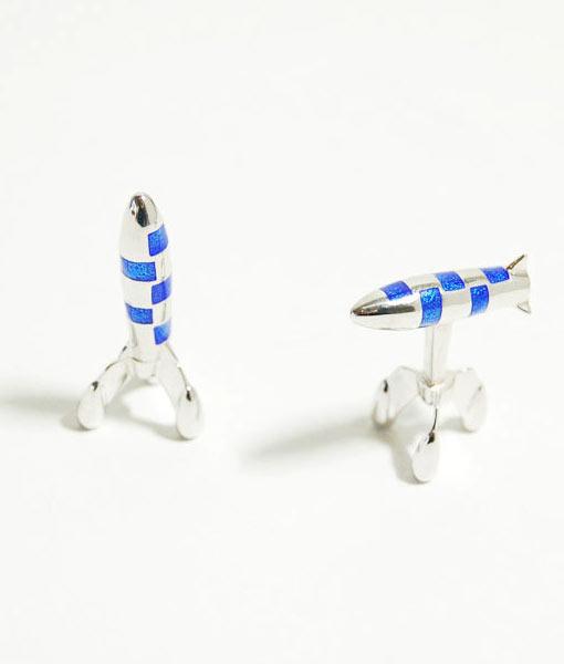rocket-cufflinks