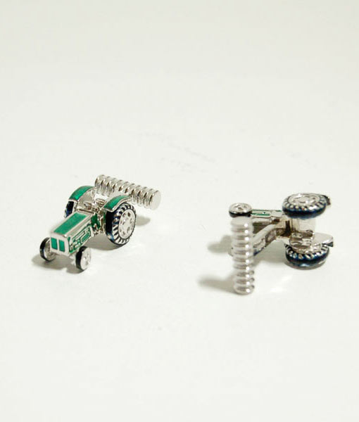 tractor-cufflinks