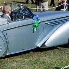 1937 Delahaye 145 Cabriolet Pebble Beach Concours d'Elegance 2015
