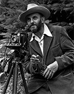 ansel adams with camera