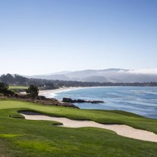 Stillwater Cove, alongside the famous holes to played at Pebble Beach in the 2018 ProAm